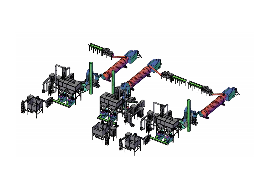 6 Units of Pellet Press Production Line