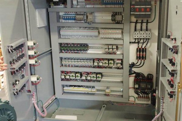 Pellet Mill Electrical panel