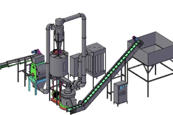 Wood Pellet Mill - Grind to Silo