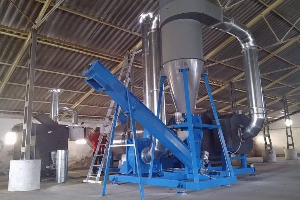 Large pellet mill photo